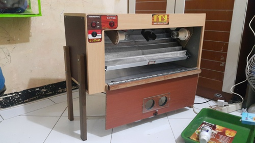 Mesin penetas telur c-100at
